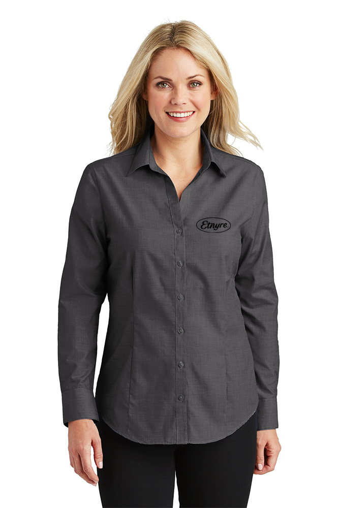 Port Authority ®  Ladies Crosshatch Easy Care Shirt